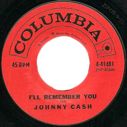 I'll Remember You (Columbia 4-41481) variant 1