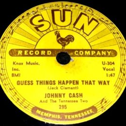 Guess Things Happen That Way Sun 295 78rpm variant 2