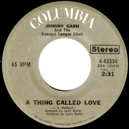 A Thing Called Love (Columbia 4-45534)