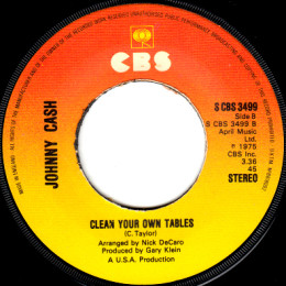 Clean Your Own Tables (S CBS 3499)