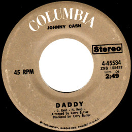 Daddy (Columbia  4-45534)