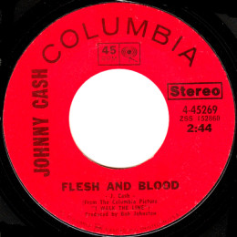 Flesh And Blood (Columbia 4-45269) variant 1