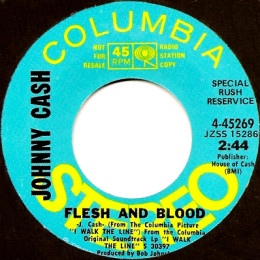 Flesh and Blood (CBS 4-45269) promo variant 3