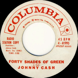 Forty Shades Of Green (Columbia 4-41995) p