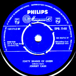 Forty Shades Of Green (Philips EPB 1148) Ireland