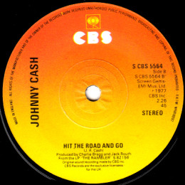 Hit The Road And Go (CBS 5564)