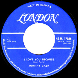 I Love You Because (London M 17086)