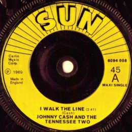 I Walk The Line (Sun International 6094 008)