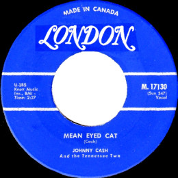Mean Eyed Cat (London M 17130)