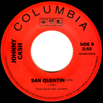 san quentin singles Cut at san quentin state prison in 1969 scoring well over 100 hit singles cash, whose birth name was jr cash, was born and raised in arkansas.