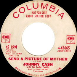 Send A Picture Of Mother (Columbia 4-42665) p