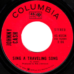 Sing A Traveling Song (Columbia 4-45134) variant 1