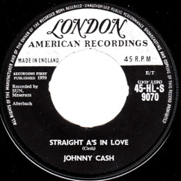 Straight A's In Love (London HL S 9070)