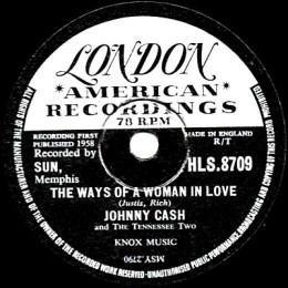 The Ways Of A Woman In Love 78 rpm
