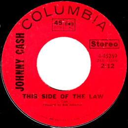 This Side Of The Law (Columbia 4-45269) variant 1