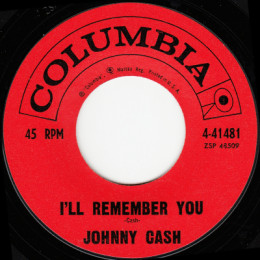 I'll Remember You (Columbia 4-41481)variant 2