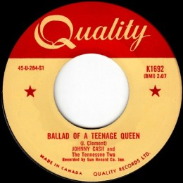 Ballad Of A Teenage Queen (Quality K 1692)