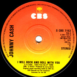I Will Rock And Roll With You (CBS 7153)
