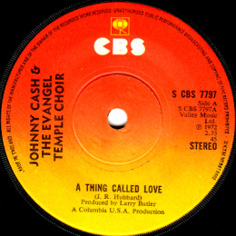 A Thing Called Love (S CBS 7797) - variant 4