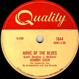 Home Of The Blues 78 rpm