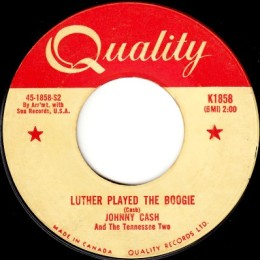 Luther Played The Boogie (Quality K 1858)