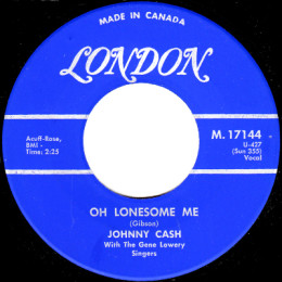 Oh Lonesome Me (London M 17744)