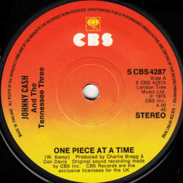 One Piece At A Time (S CBS 4287)