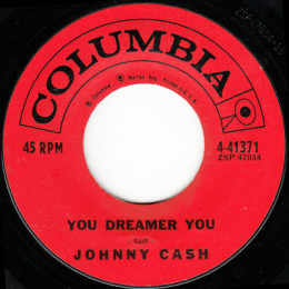 You Dreamer You  (Columbia 4-41371) variant 1