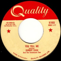 You Tell Me (Quality K 1955)