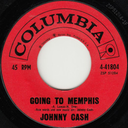 Going To Memphis (Columbia 4-41804) variant 1