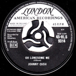 Oh Lonesome Me (London HL S 9314)