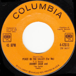 Peace In The Valley (Columbia 4-42615)