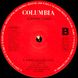 A Thing Called Love (Columbia 659785 7)