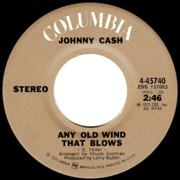 Any Old Wind That Blows (Columbia 4-45740)
