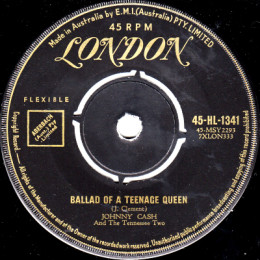 Ballad Of A Teenage Queen (London HL 1341) aus