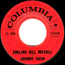 Smiling Bill McCall (Columbia 4-41618) variant 2