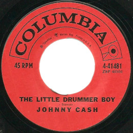 The Little Drummer Boy (Columbia 4-41481) variant 1