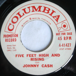 Five Feet High And Rising (Columbia 4-41427) promo variant 1