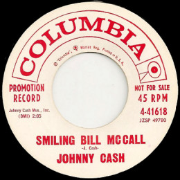 Smiling Bill McCall (Columbia 4-41618) promo variant 1