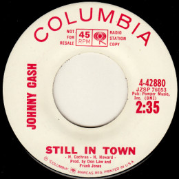Still In Town (Columbia 4-42880) p