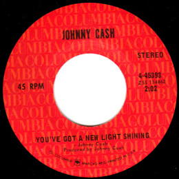 You've Got A New Light Shining In Your Eyes (Columbia 4-45393) variant 1