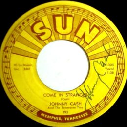 Come In Stranger-Sun-295 Signed