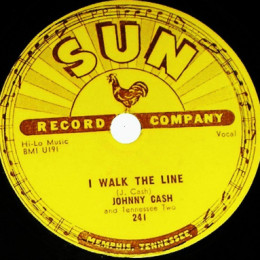 I Walk The Line 78 rpm - variant 1