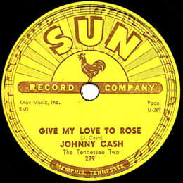 Give My Love To Rose 78 rpm