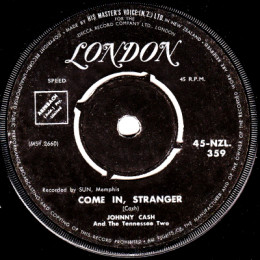 Come In Stranger (London NZL 359)