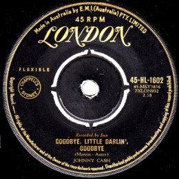 Goodbye Little Darlin, Goodbye (London HL 1602) aus