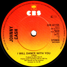 I Will Dance With You (CBS A 1155)