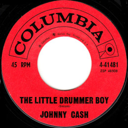 The Little Drummer Boy (Columbia 4-41481)variant 2