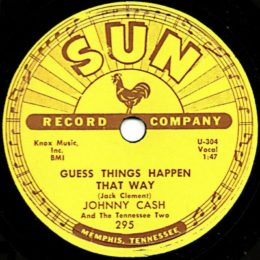Guess Things Happen That Way Sun 295 78rpm variant 1