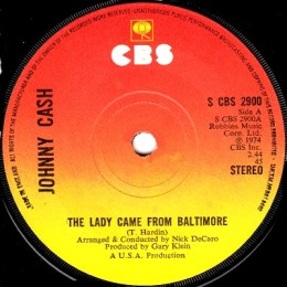 The Lady Came From Baltimore (CBS 2900)